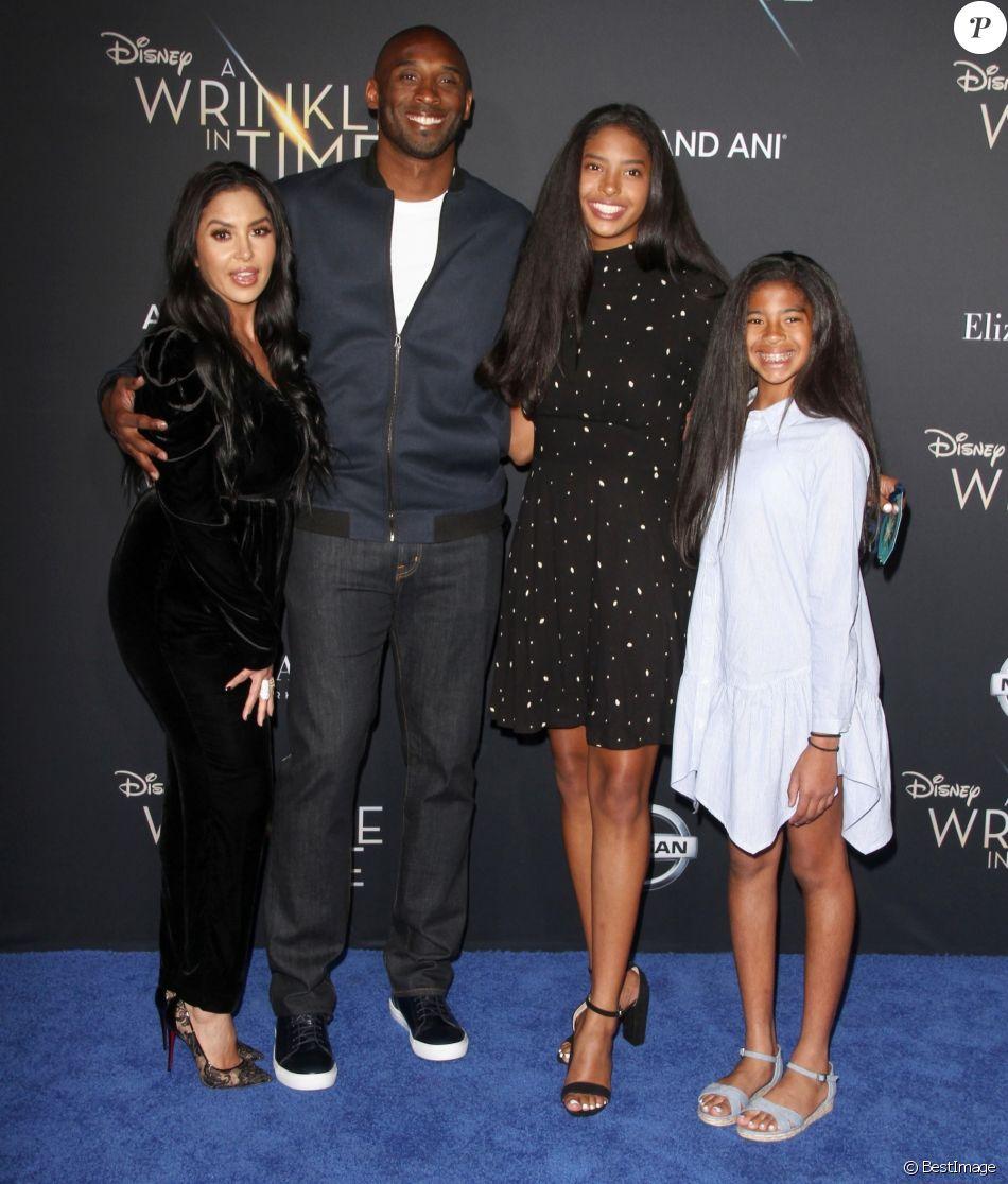 Kobe Bryant, papa comblé : Il dévoile le visage de sa quatrième fille