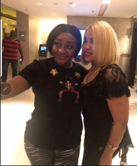 Récemment divorcée: Que mijote Viviane Chidid avec cette célèbre actrice nigériane?