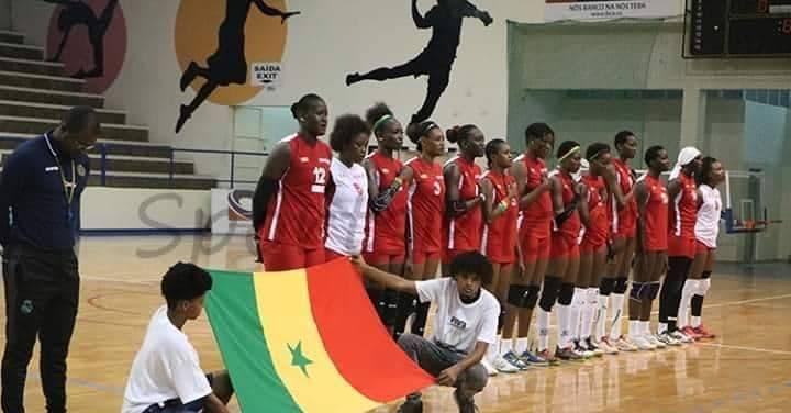 """Coupe d'Afrique de Volley-Ball: Les """"Lionnes"""" passent face au Maroc et se qualifient en demi-finale"""