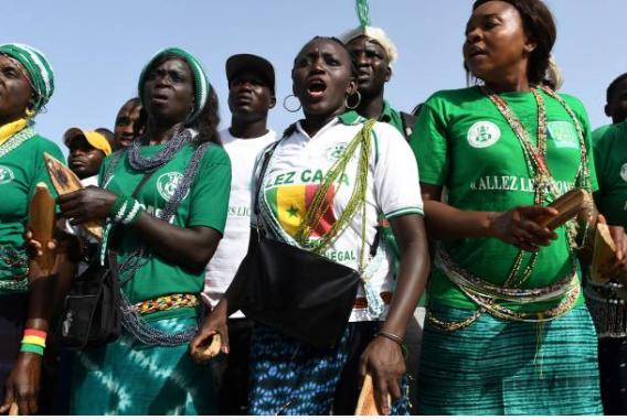 (47 Photos) Liesse populaire à Dakar après la victoire des « Lions » les images qui doit pas vous échapper.