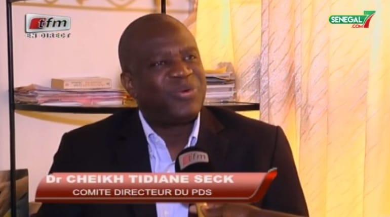 Cheikh Tidiane Seck, (PDS) sur les Locales: « nous n'excluons pas une alliance avec l'Apr