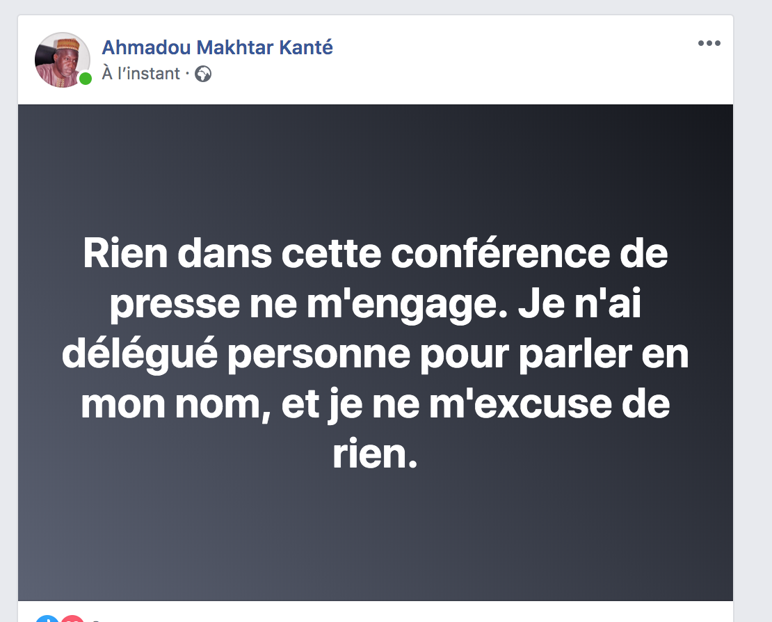 """Imam Kanté s'en prend aux """"faux imams"""" venus chez Thione Seck"""