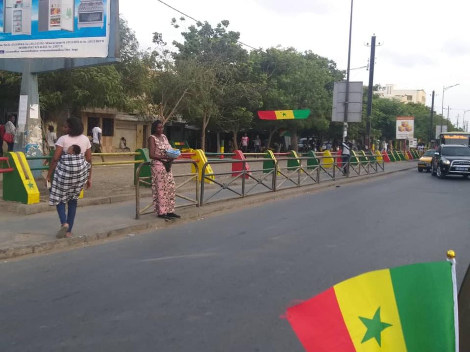 PHOTOS-Can 2019/Finale: Dakar aux couleurs du Sénégal