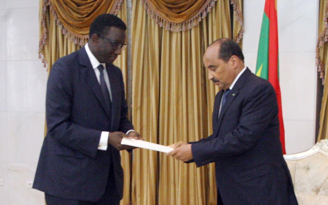 Coopération sénégalo-mauritanienne:Amadou Bâ reçu par le président Mohamed Abdel Aziz