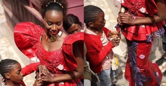 PHOTOS - Coumba Gawlo dévoile enfin sa « fille » dans son nouveau clip