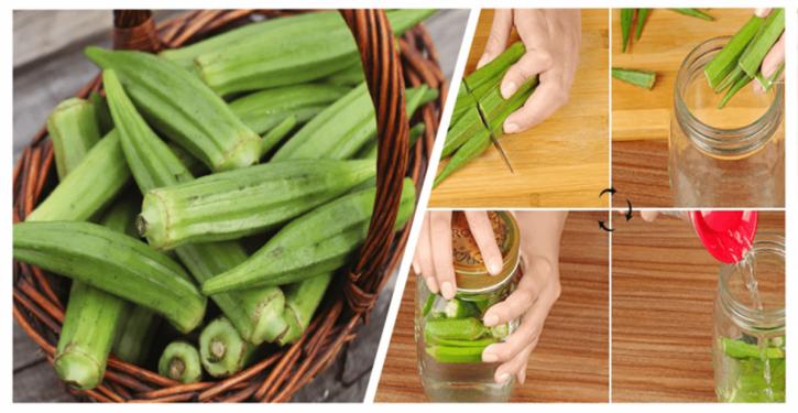 Le Gombo : un remède naturelle contre le diabète et le cholestérol. Voici comment le préparer