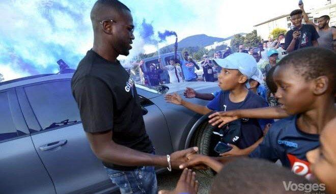 PHOTOS - Les Moments forts de l'accueil triomphal de Kalidou Koulibaly chez lui en France