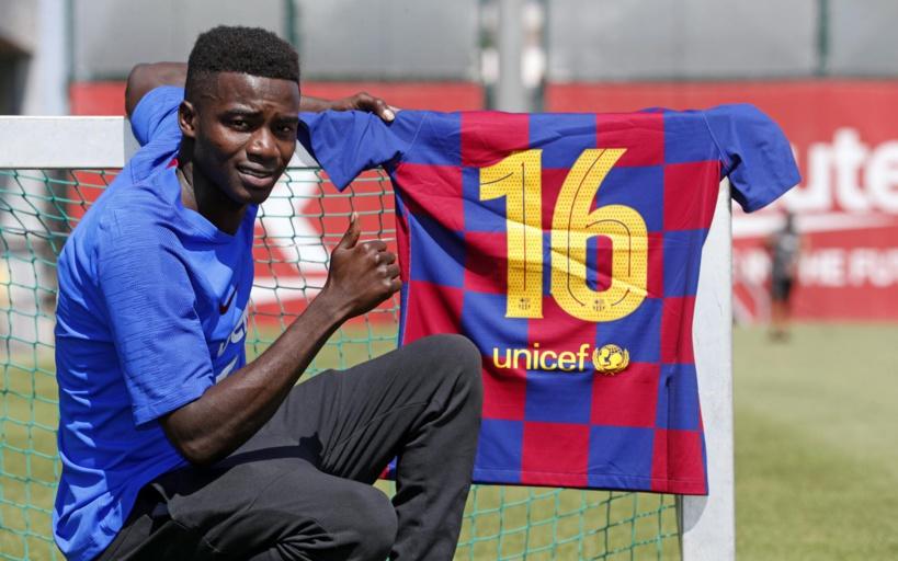 Barça : Moussa Wagué rejoint l'équipe première