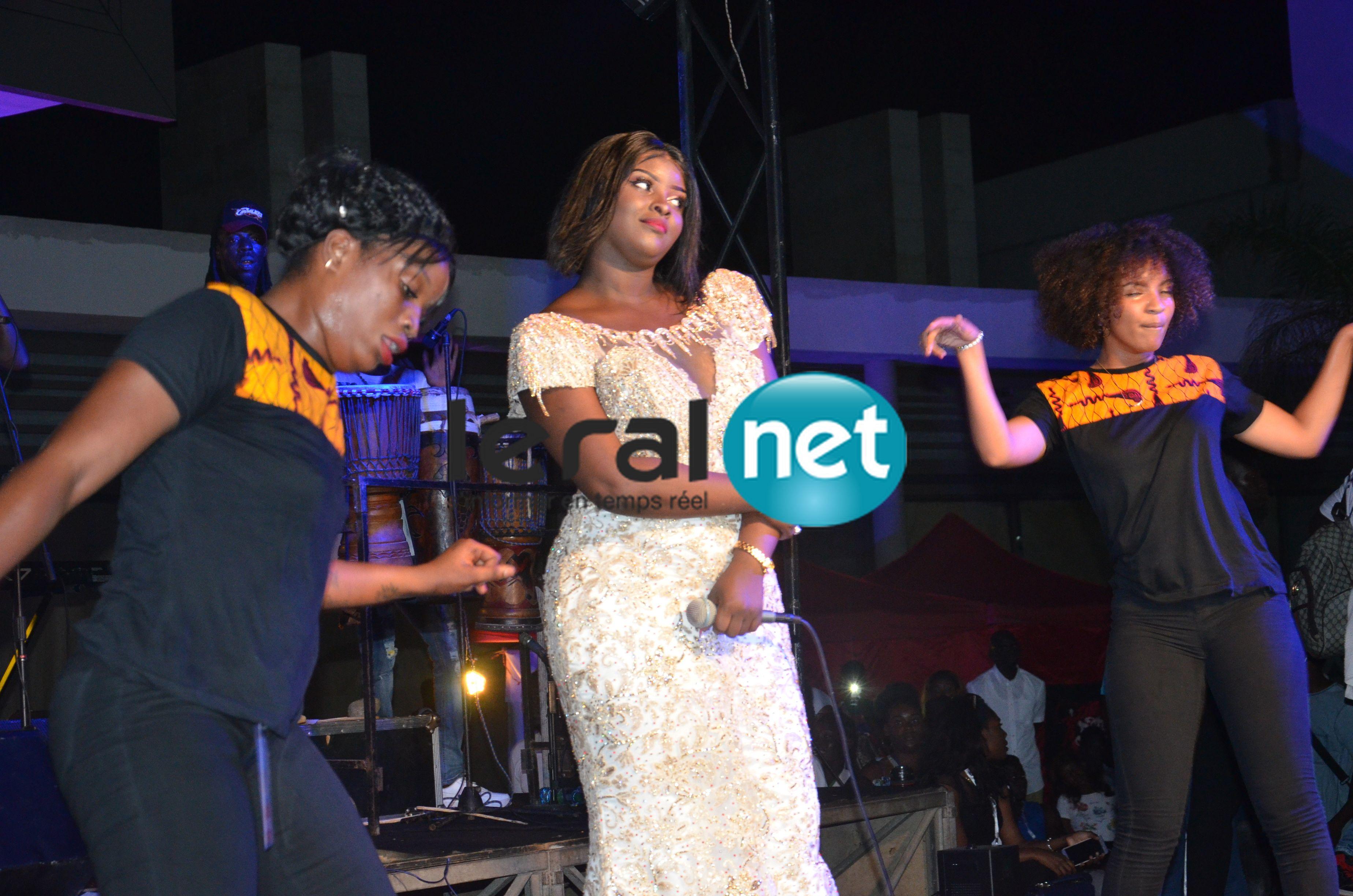 Les images de l'anniversaire de Abiba au Sea Plaza
