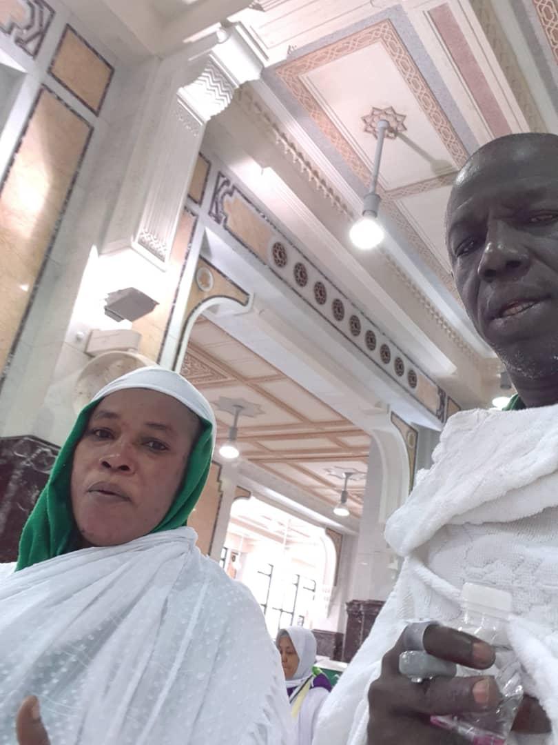 PHOTOS: Wilane s'offre un selfie devant la Kaaba