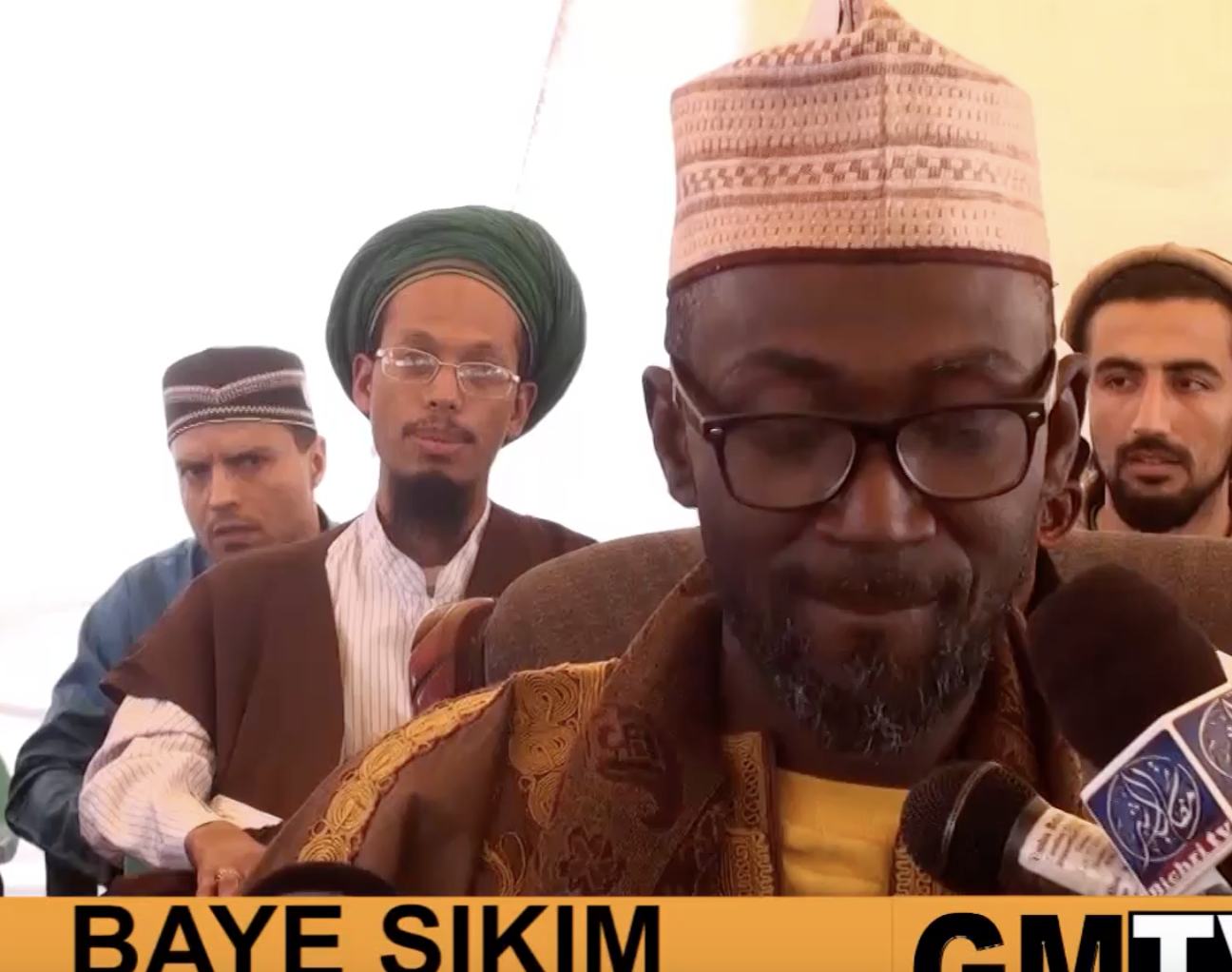 VIDEO - L'Américain Baye Sikim parle de Serigne Touba et Elhadji Malick