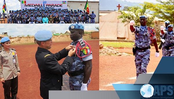 La médaille des Nations Unies remise à des policiers sénégalais