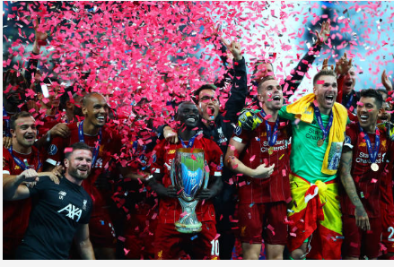 PHOTOS - Sadio Mané, après la victoire de Liverpool en Supercoupe d'Europe : « Le mental a fait la différence »