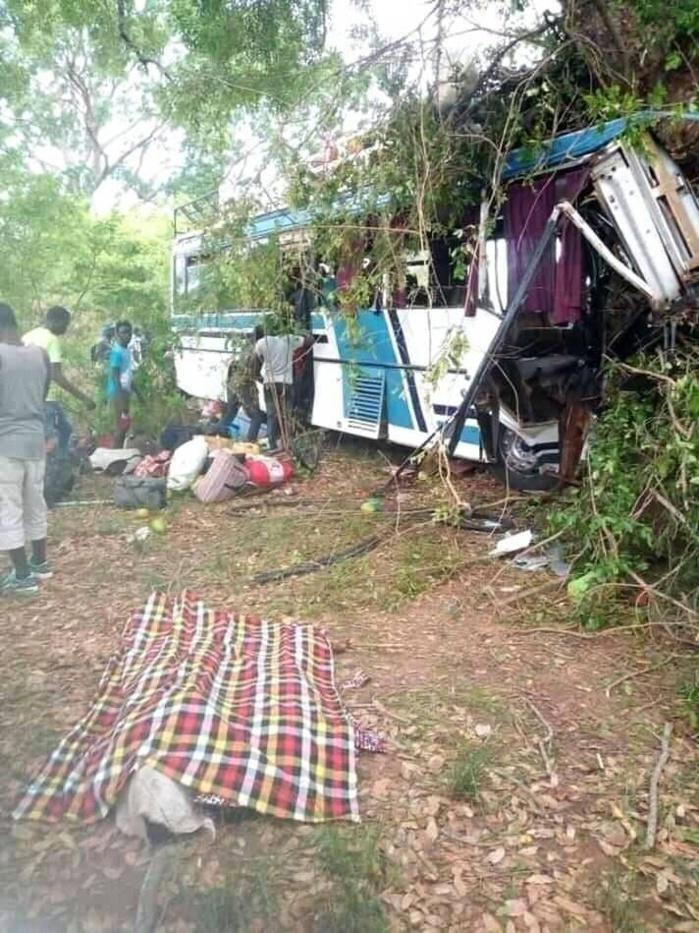 Accident de Badiouré: le bilan s'alourdit à cinq morts