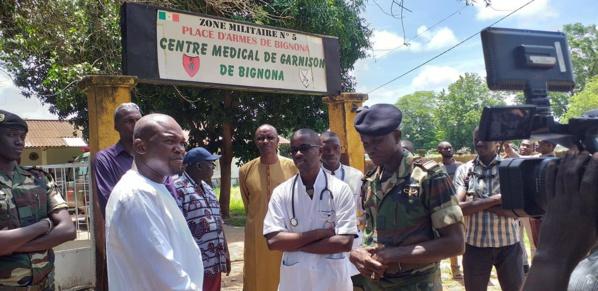 Accident de Badiouré: l'ANRAC offre 3 millions pour la prise en charge des blessés