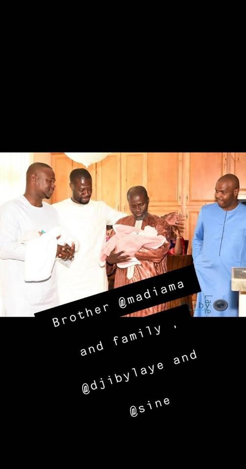 Carnet Rose: Baptême des jumeaux Alé et Mame Ndiaye du rappeur Fata