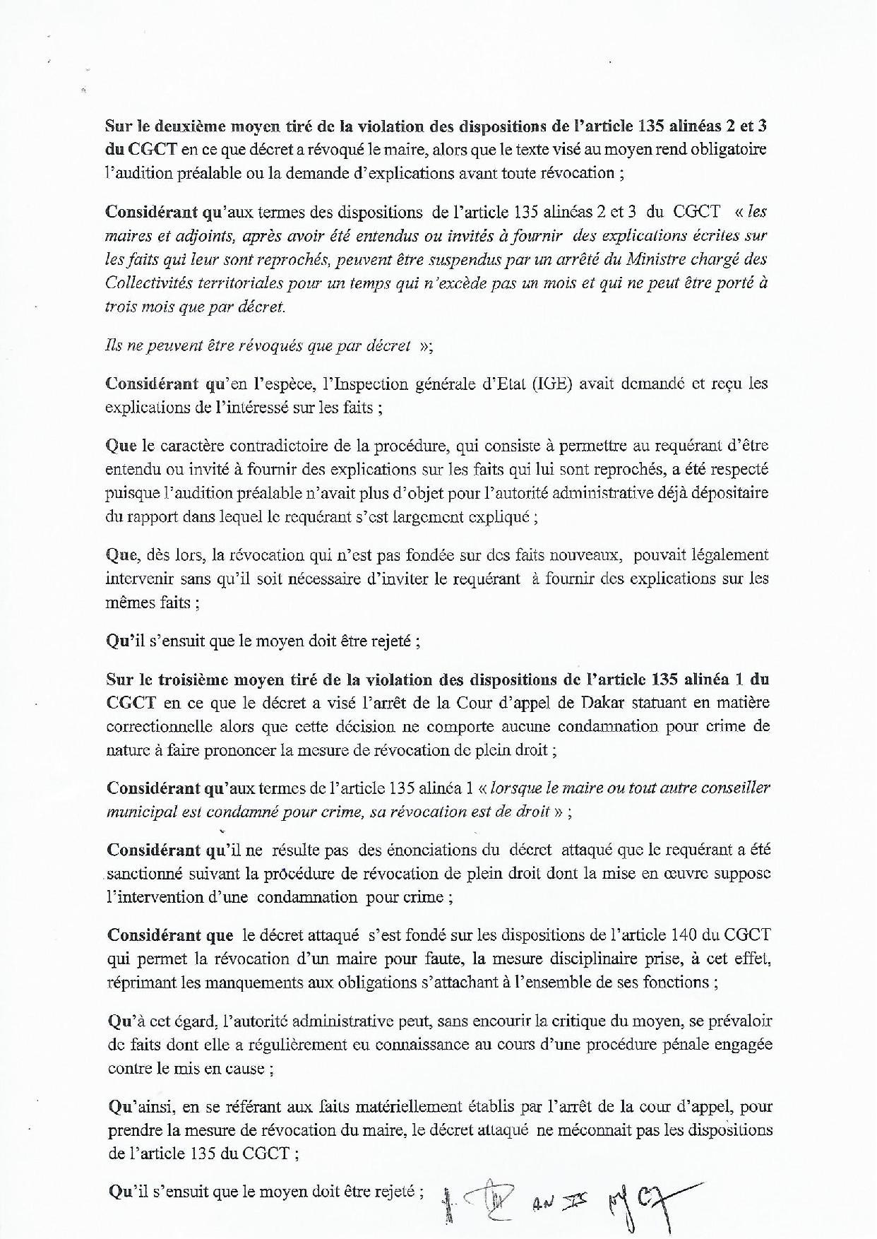 Gestion des déchets solides : Khalifa Sall et l'Entente Cadak déboutés (Documents)