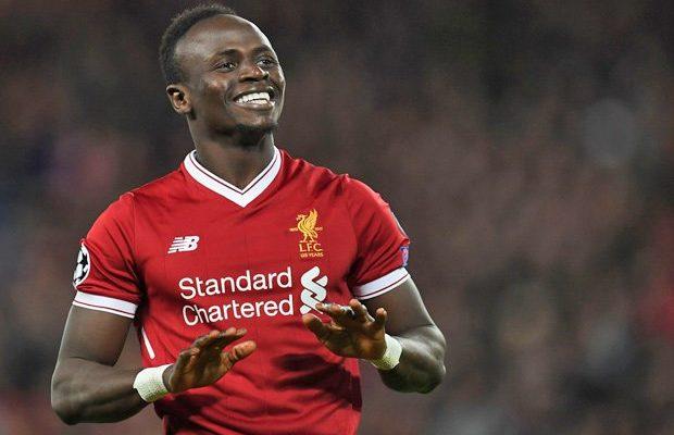 Meilleur attaquant d'Europe : Sadio Mané à la deuxième place