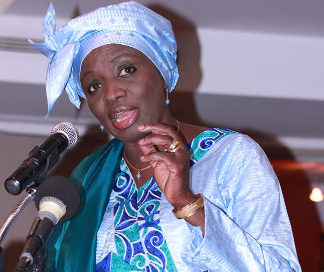 APR- Succession de Macky Sall: Aminata Touré du CESE, trouve le débat prématuré