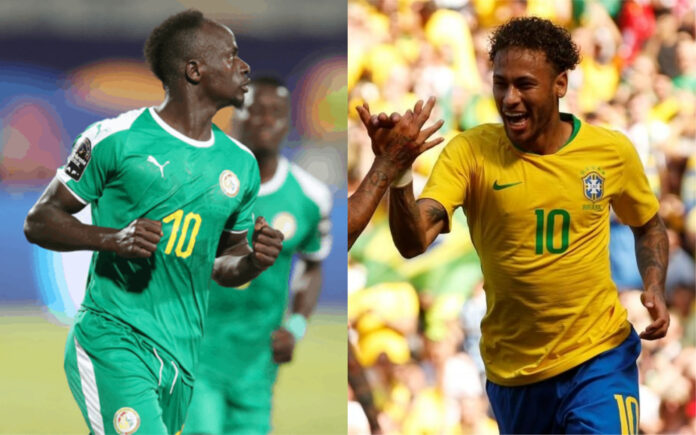 Match amical: le Brésil rencontre le Sénégal, le 15 Octobre au Koweit