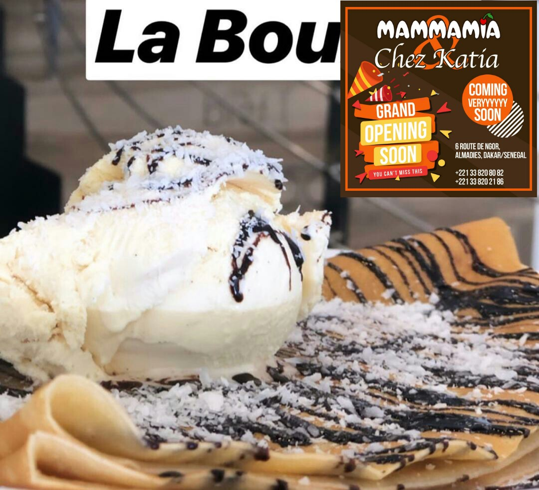"Restaurant ""Chez Katia"" accueille Mammamia le glacier numéro 1"