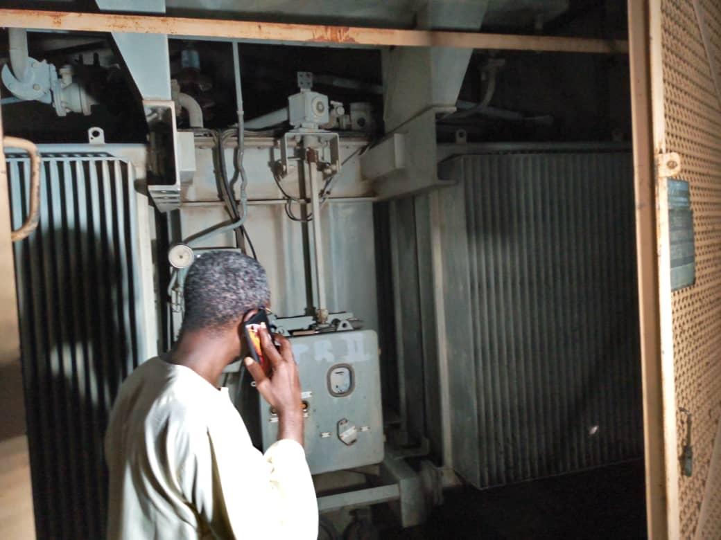 Kaolack: Un transformateur de la Senelec prend feu et crée une coupure générale