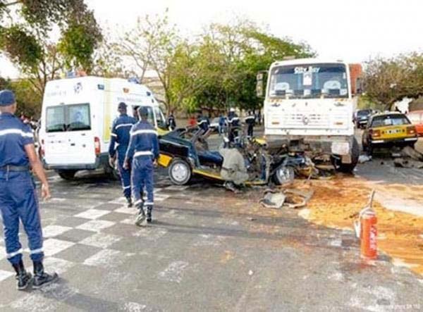 Prévention routière: Sédhiou enregistre 7 morts et 149 blessés en 2018