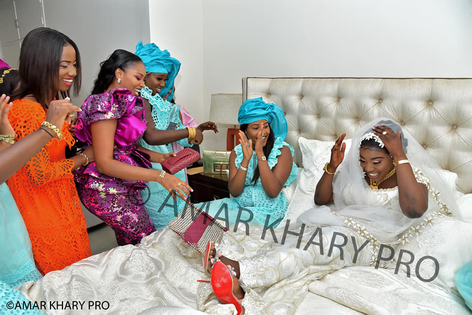 PHOTOS - Le mariage royal de la fille de Cheikh Seck, ancien international de football