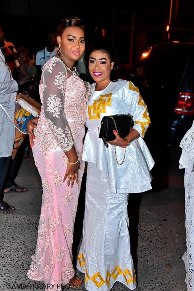 PHOTOS - Ces célébrités au mariage de la ravissante Sophia, Mme Diop