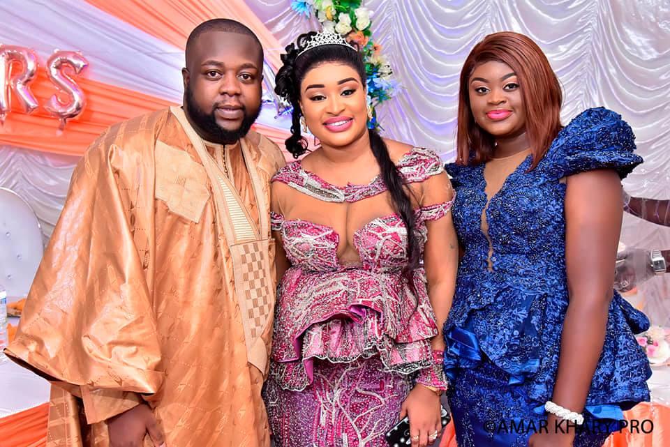 PHOTOS - Serigne Mbacké Ndiaye au somptueux mariage de M. et Mme Bâ !
