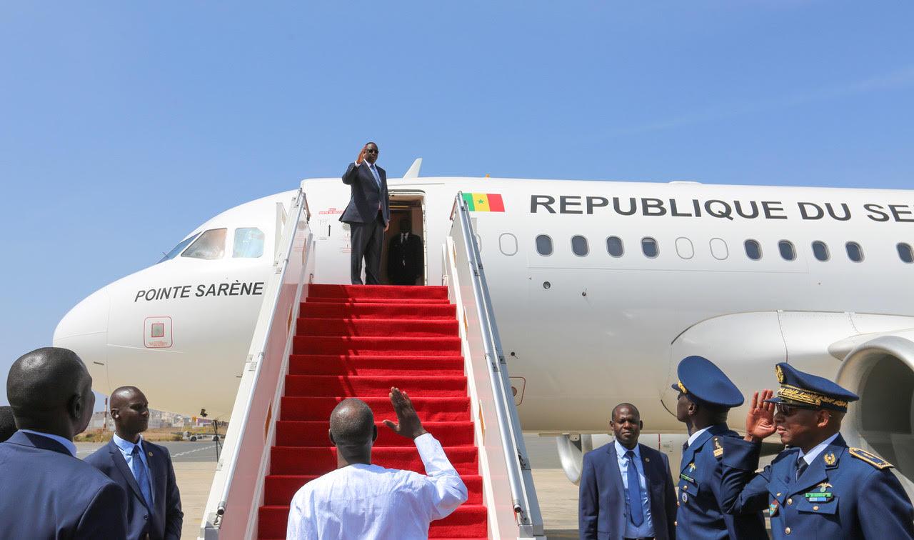 L'avion  présidentiel « Pointe Sarène », immobilisé: La Présidence donne les raisons