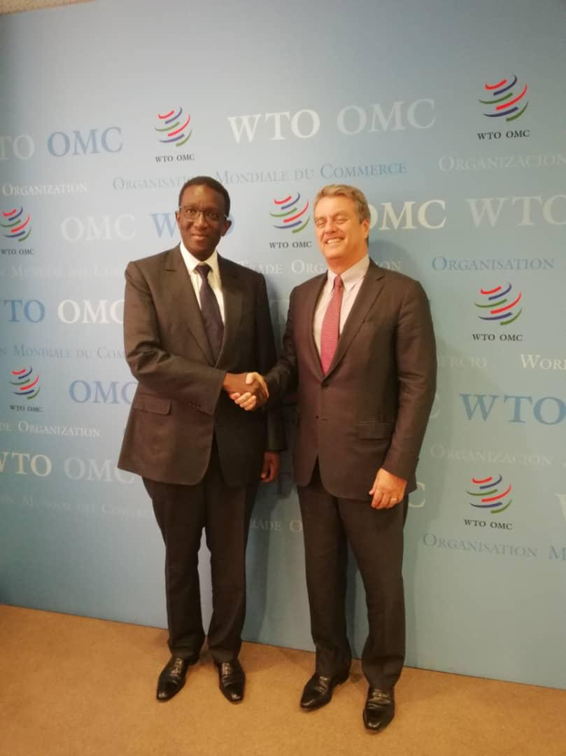 Le Ministre des Affaires Etrangères et des Sénégalais de l'Extérieur « MAESE », M. Amadou BA a pris part au Conseil des Droits de l'homme à Genève