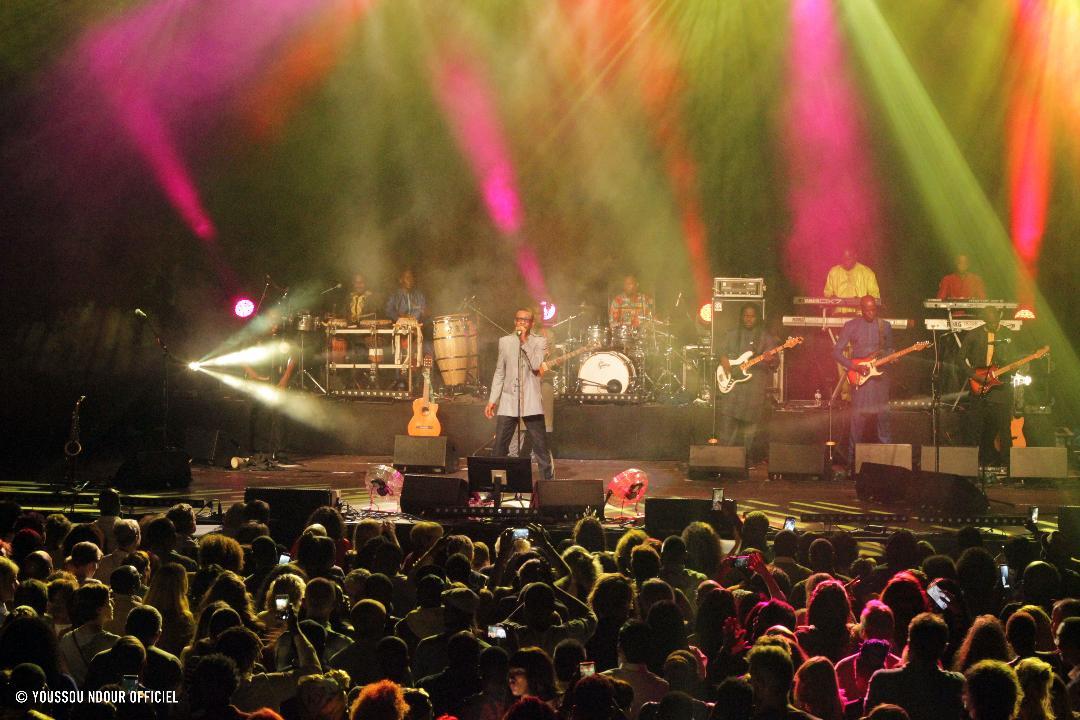 (PHOTOS) : Concert de Youssou Ndour et le Super Étoile lors de la Grande fête africaine du samedi 14 septembre 2019 au Forest National de Bruxelles (en Belgique)