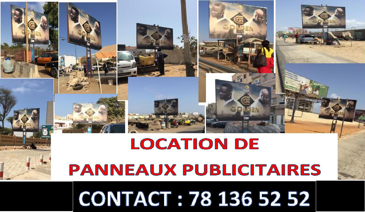 01COM GROUP - Location de 35 panneaux publicitaires partout à Dakar