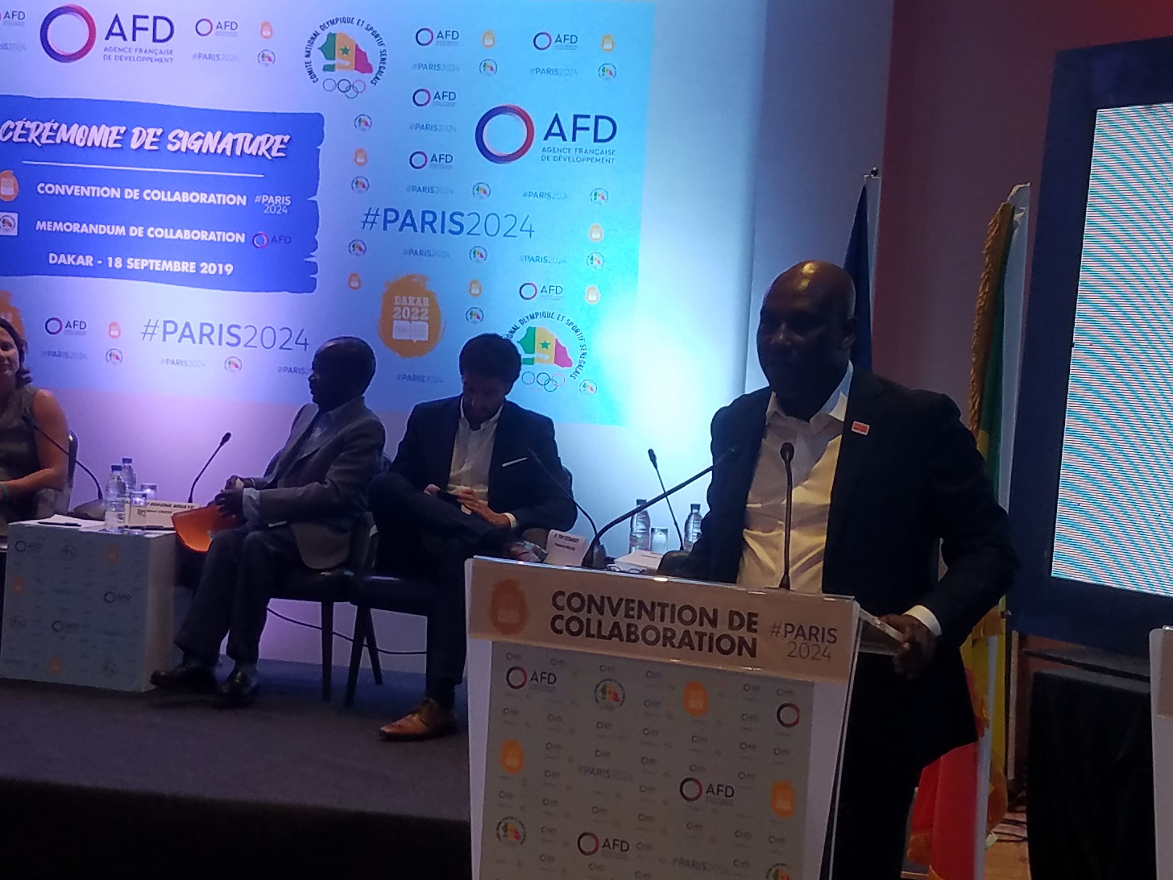 Paris 2024 s'engage aux côtés de Dakar 2022, dans un nouveau mode de coopération internationale