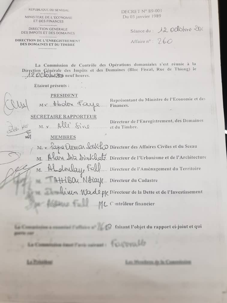 Sa « baraque » des Almadies érigée sans titre légal, démolie…: Me Moussa Bocar Thiam crie au scandale ( Documents )