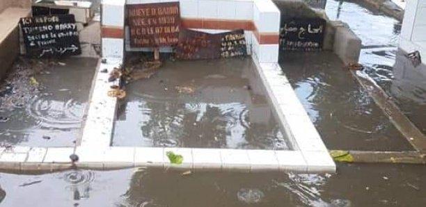 Cimetière de Pikine envahi par les eaux de pluie: L'arène nationale indexée