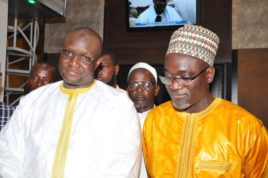 PHOTOS - Massalikoul Djinaan: Mouhamadou Makhtar Cissé et Pape Demba Bitèye contemplent le joyau, avant l'inauguration