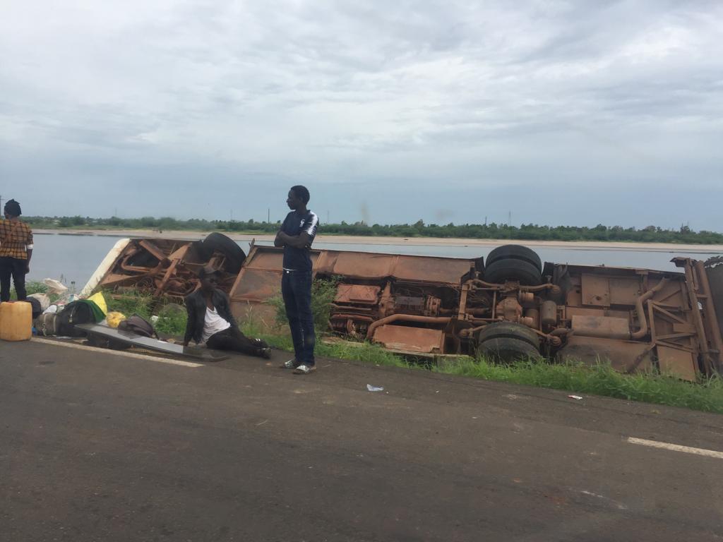 Fatick: Un bus se renverse et fait des plusieurs blessés