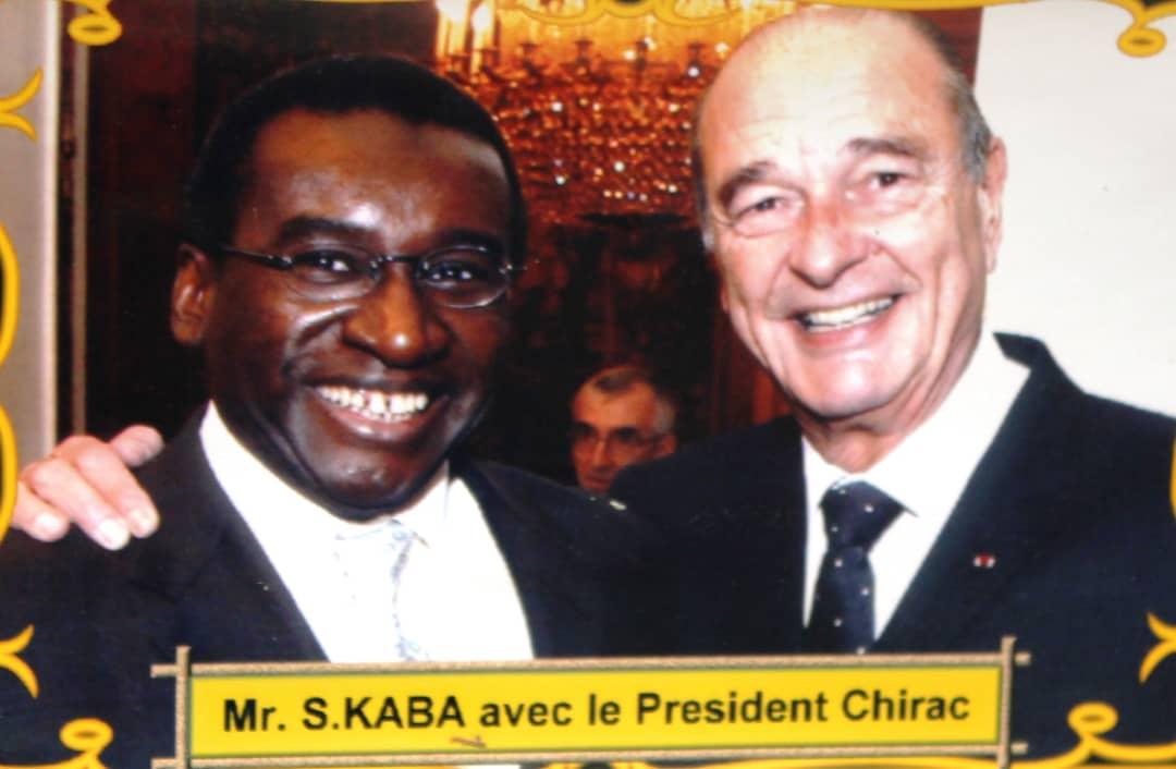Arrêt sur image: Me Sidiki Kaba en toute complicité avec Jacques Chirac