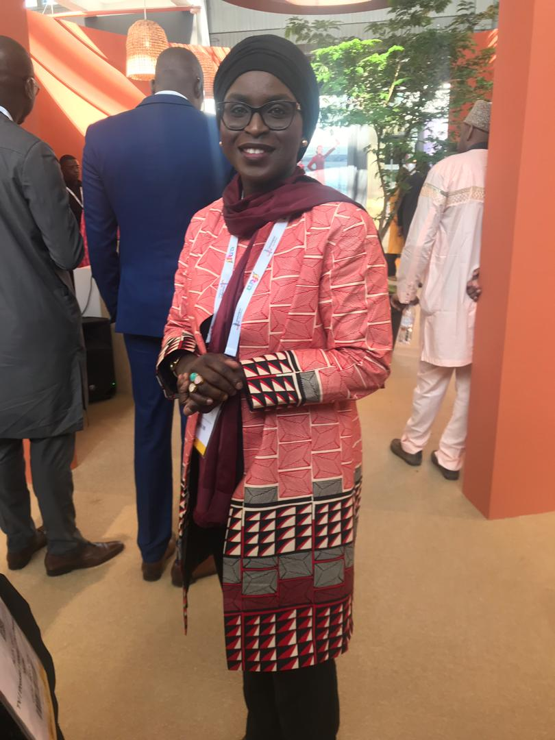 Photos: Oulimata Sarr, la très classe Directrice de la Promotion touristique au  IFTM Top Resa Paris 2019