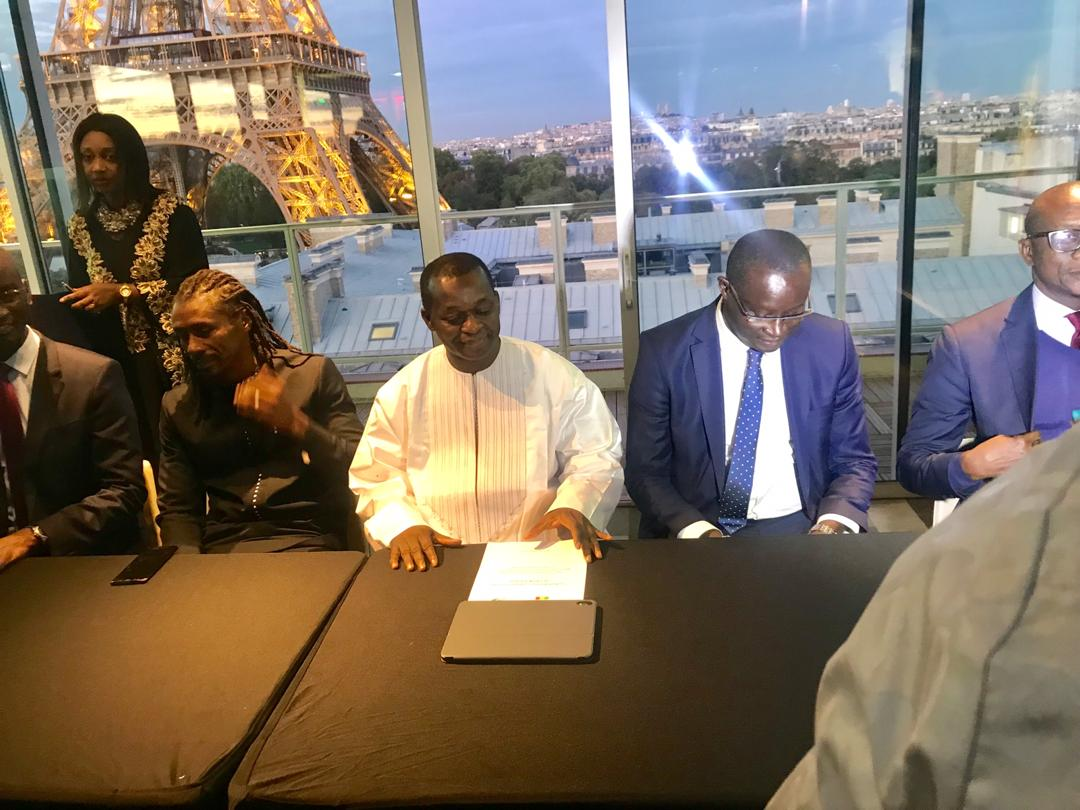 Photos : Alioune Cissé, nouvel Ambassadeur d'honneur de la Destination Sénégal