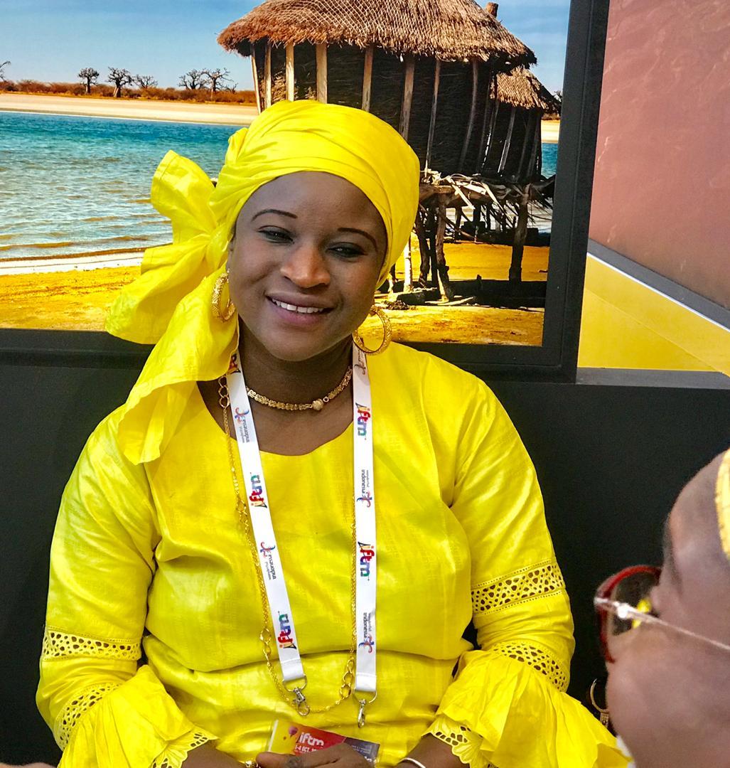 Photos : le charme de la femme sénégalaise au Salon du Tourisme Paris 2019