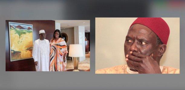 """Marième Faye """"réconcilie"""" Macky Sall et Moustapha Diakhaté"""