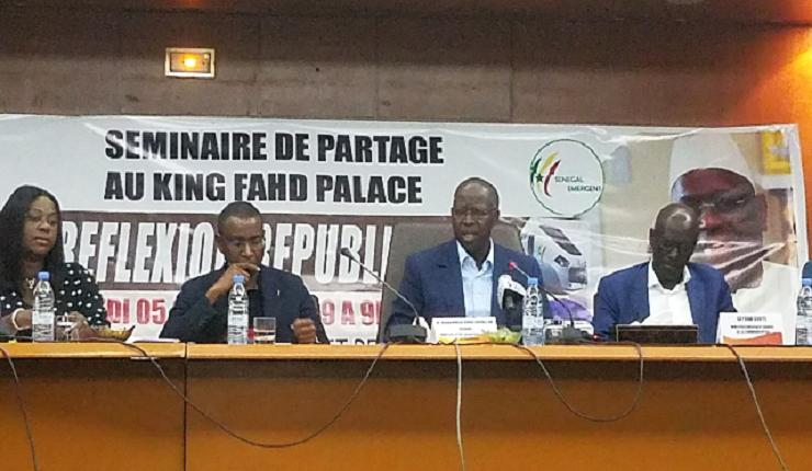 Mahammed Boun Abdallah Dionne : « Il faut qu'on soit fiers de notre pays...»