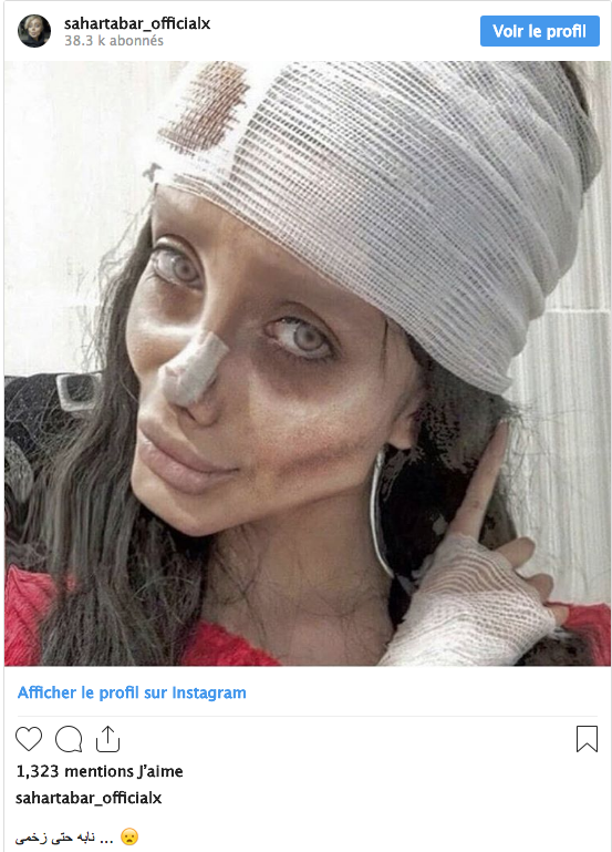 Angelina Jolie: son « sosie zombie » arrêtée en Iran pour...