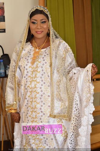 PHOTOS - Baptême: Mamy Diop Linguère de la TFM donne le nom de Baye Niass à son fils