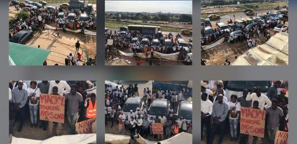 PHOTOS: Les partisans de Sonko avertissent Macky Sall