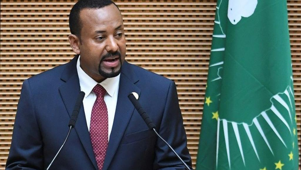 Le Premier ministre Ethiopien Abiy Ahmed, prix Nobel de la Paix 2019