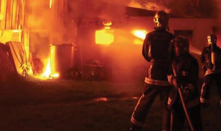 Marché central de Thiès: Un magasin prend feu